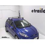 Yakima Q Tower Roof Rack Installation - 2011 Ford Fiesta