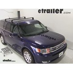Yakima Q Tower Roof Rack Installation - 2011 Ford Flex