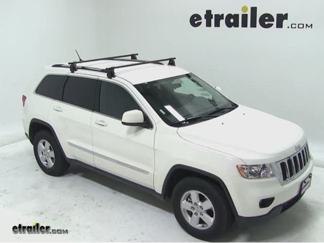 Charming Yakima Q Tower Roof Rack Installation   2012 Jeep Grand Cherokee Video |  Etrailer.com