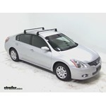 Video install yakima q towers 2012 nissan altima