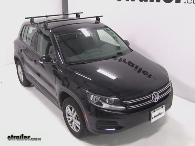 Yakima Q Tower Roof Rack Installation   2012 Volkswagen Tiguan Video |  Etrailer.com