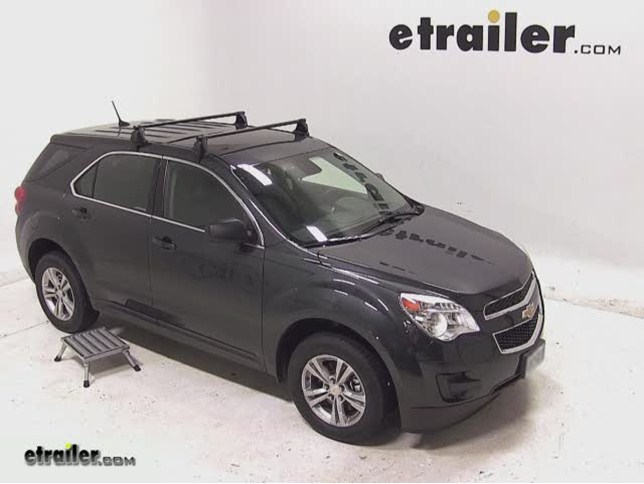 Yakima Q Tower Roof Rack Installation - 2013 Chevrolet Equinox Video