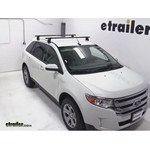 Yakima Q Tower Roof Rack Installation - 2013 Ford Edge