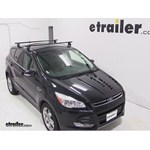 Yakima Q Tower Roof Rack Installation - 2013 Ford Escape