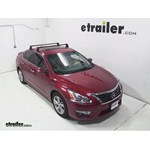 Video install yakima q towers 2013 nissan altima y00408