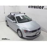 Yakima Q Tower Roof Rack Installation - 2013 Volkswagen Jetta