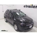 Yakima Q Tower Roof Rack Installation - 2014 Jeep Compass
