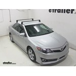 Video install yakima q towers 2014 toyota camry y00408