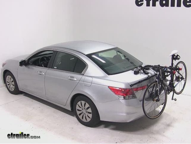 Captivating Yakima QuickBack 2 Bike Rack Review   2012 Honda Accord Video | Etrailer.com