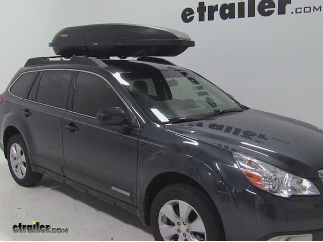 Yakima Rocketbox Pro 11 Rooftop Cargo Box Review 2011 Subaru