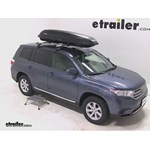 Yakima RocketBox Pro 11 Rooftop Cargo Box Review - 2012 Toyota Highlander