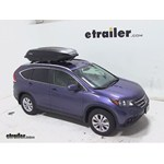 Yakima RocketBox Pro 14 Rooftop Cargo Box Review - 2013 Honda CR-V