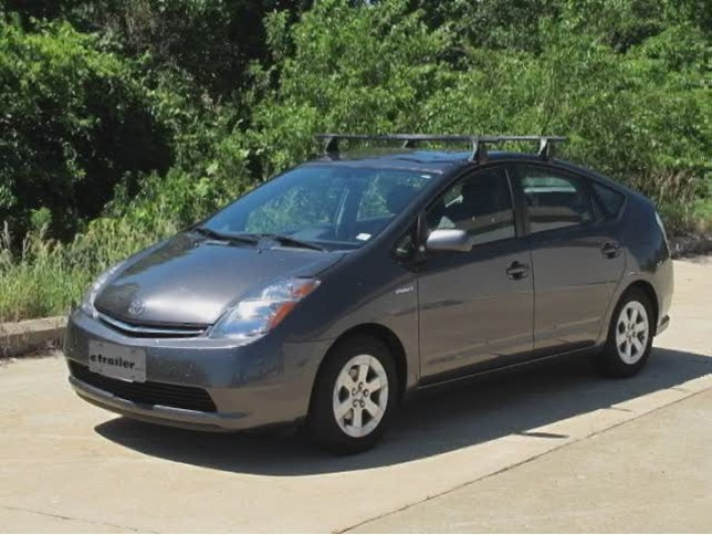 Prius Roof Rack >> Yakima Q Tower Roof Rack Installation 2007 Toyota Prius Video