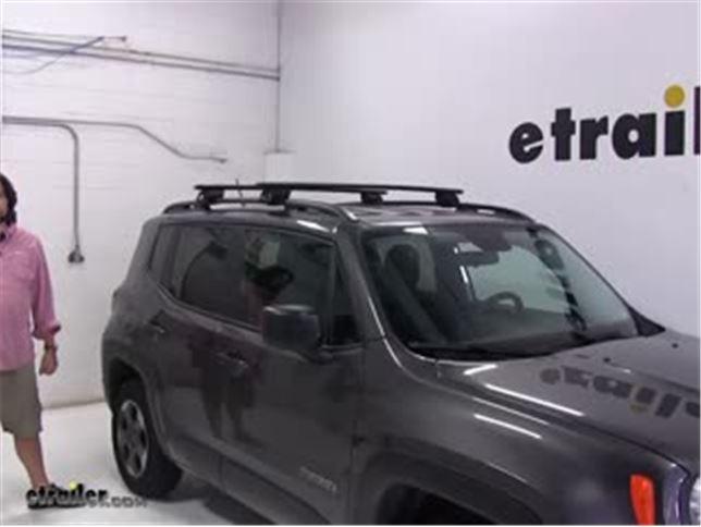 Jeep Renegade Roof >> Yakima Roof Rack Installation 2017 Jeep Renegade Video Etrailer Com
