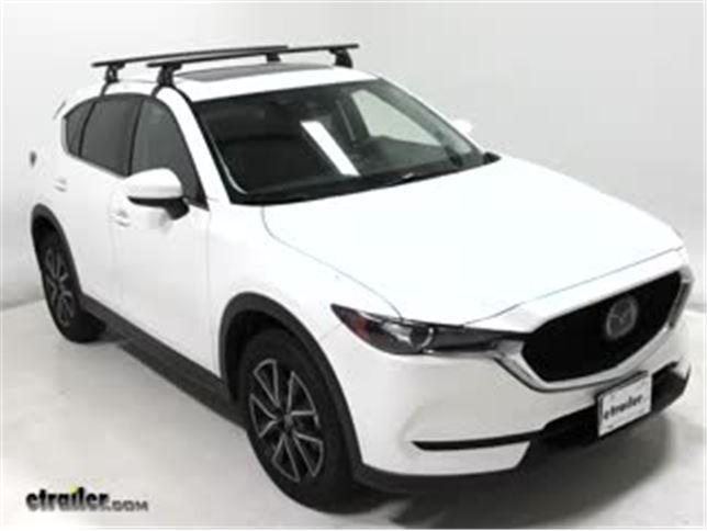 Luggage Baggage Roof Rack Rail Bar Ski Carrier for Mazda CX-5 CX5 2017 2018