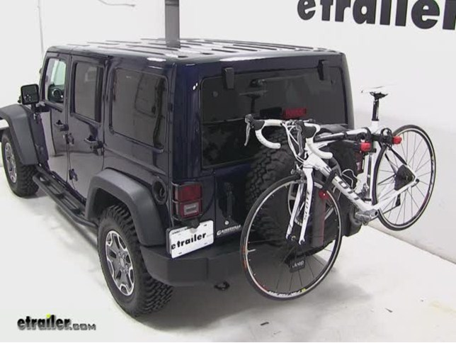 Bike Rack For Jeep Wrangler Spare Tire Mount Bike Rack