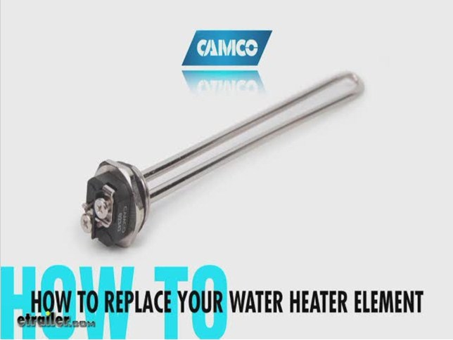 Camco Water Heater Element Replacement Manufacturer Review Video Etrailer Com