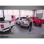 Video mreview of hard truck bed covers 30 second overview with katie osborne bak79407