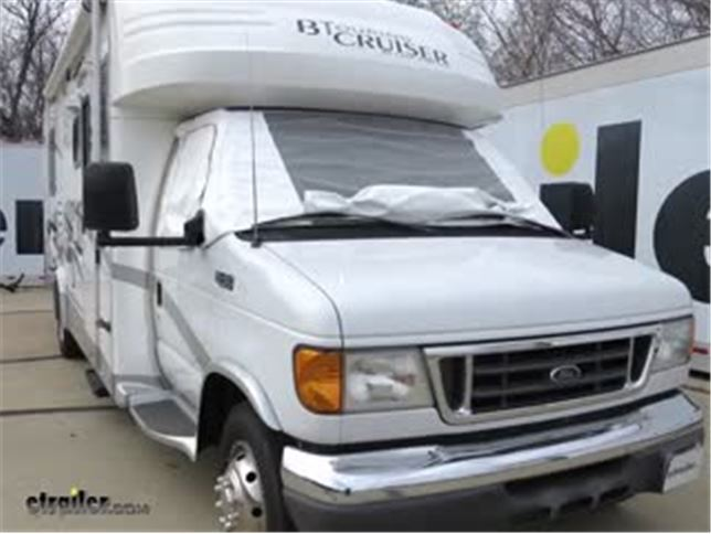 Adco Windshield Cover For Class C Motorhome White Adco