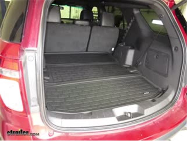 Aries Styleguard Cargo Area Liner Review  Ford Explorer Video Etrailer Com