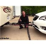 Video review blue ox adventurer tow bar with adjustable arms bx7322