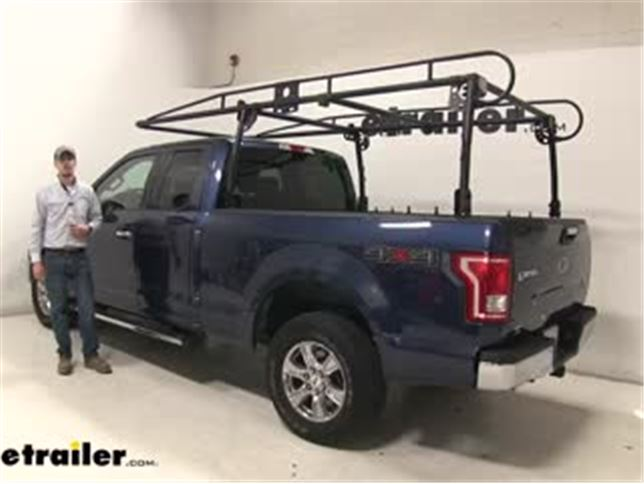 Ers Products Ladder Racks Review 2016 Ford F 150 Video Etrailer