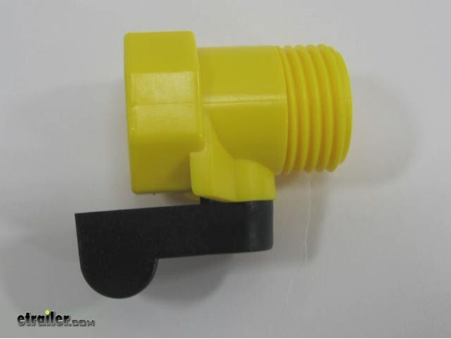 Video of Camco Garden Hose Straight Shut-Off Valve - Plastic & Compare Camco Quick Hose vs Camco Garden Hose | etrailer.com