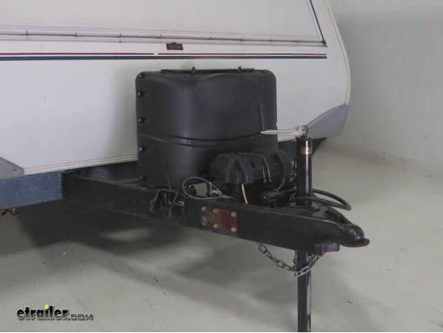 Camco Rv Polyethylene Propane Tank Cover For 2 20 Lb