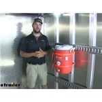 CargoSmart E-Track or X-Track System Water Cooler Holder Review