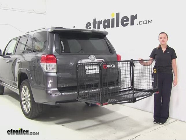 review carpod hitch cargo carrier 2010 toyota 4runner m2205_644 carpod hitch cargo carrier review 2010 toyota 4runner video  at bayanpartner.co