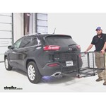 Carpod  Hitch Cargo Carrier Review - 2015 Jeep Cherokee