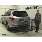 Carpod  Hitch Cargo Carrier Review - 2016 Nissan Pathfinder