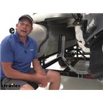 Video review ce smith pontoon boat trailer roller guide ons ce27672