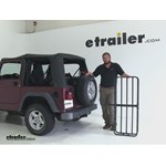 Curt 17x46 Hitch Cargo Carrier Review - 2004 Jeep Wrangler