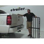 Curt 17x46 Hitch Cargo Carrier Review - 2011 Chevrolet Avalanche