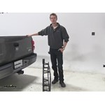 Curt 17x46 Hitch Cargo Carrier Review - 2011 Dodge Dakota