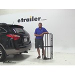 Curt 17x46 Hitch Cargo Carrier Review - 2012 Hyundai Veracruz