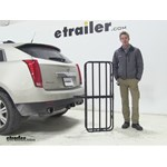 Curt 17x46 Hitch Cargo Carrier Review - 2013 Cadillac SRX