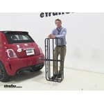 Curt 17x46 Hitch Cargo Carrier Review - 2013 Fiat 500