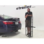 Curt 17x46 Hitch Cargo Carrier Review - 2013 Honda Accord