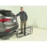 Curt 17x46 Hitch Cargo Carrier Review - 2013 Hyundai Santa Fe