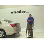 Curt 17x46 Hitch Cargo Carrier Review - 2014 Chevrolet Malibu