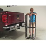 Curt 17x46 Hitch Cargo Carrier Review - 2014 Chevrolet Silverado 1500