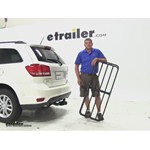 Curt 17x46 Hitch Cargo Carrier Review - 2014 Dodge Journey
