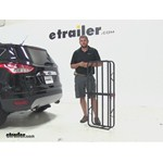 Curt 17x46 Hitch Cargo Carrier Review - 2014 Ford Escape