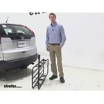 Curt 17x46 Hitch Cargo Carrier Review - 2014 Honda CR-V