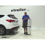 Curt 17x46 Hitch Cargo Carrier Review - 2014 Hyundai Santa Fe