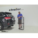 Curt 17x46 Hitch Cargo Carrier Review - 2014 Jeep Grand Cherokee