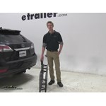 Curt 17x46 Hitch Cargo Carrier Review - 2014 Lexus RX 350