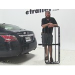 Curt 17x46 Hitch Cargo Carrier Review - 2014 Nissan Altima